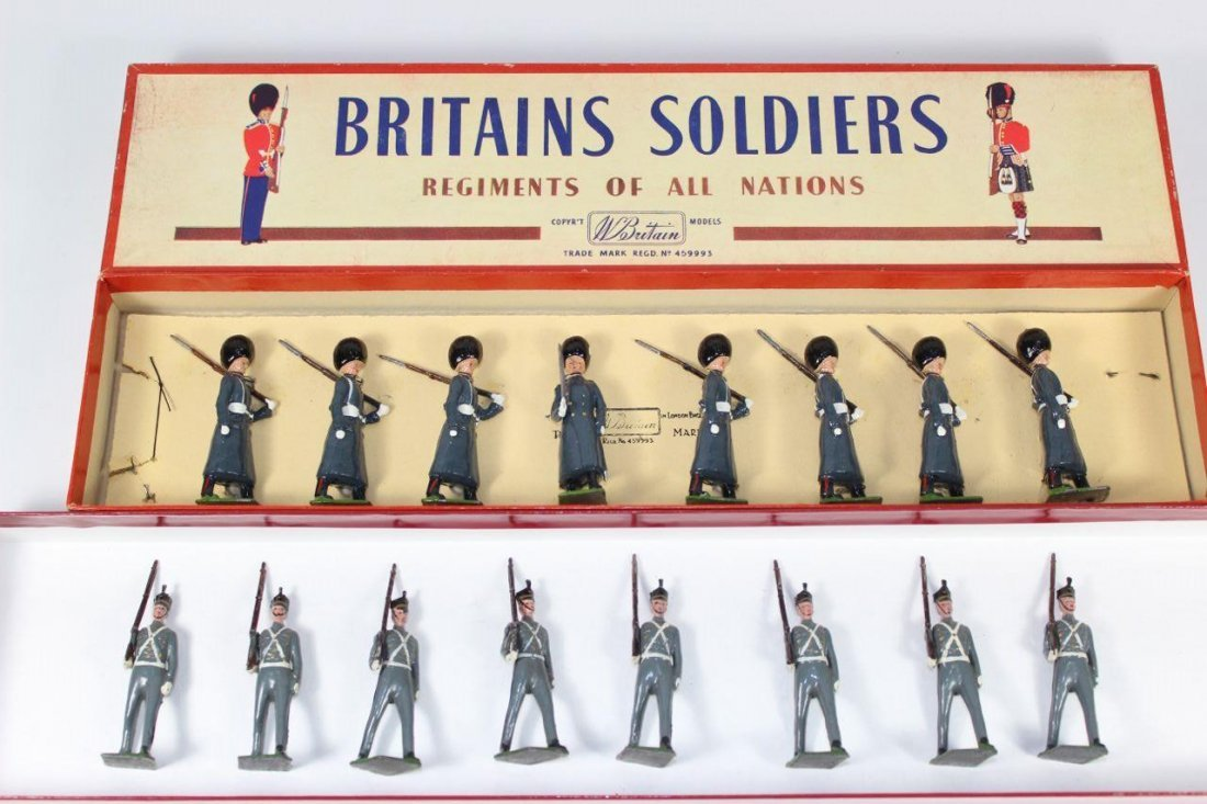 Britains Set #266 and #312 West Point Cadets