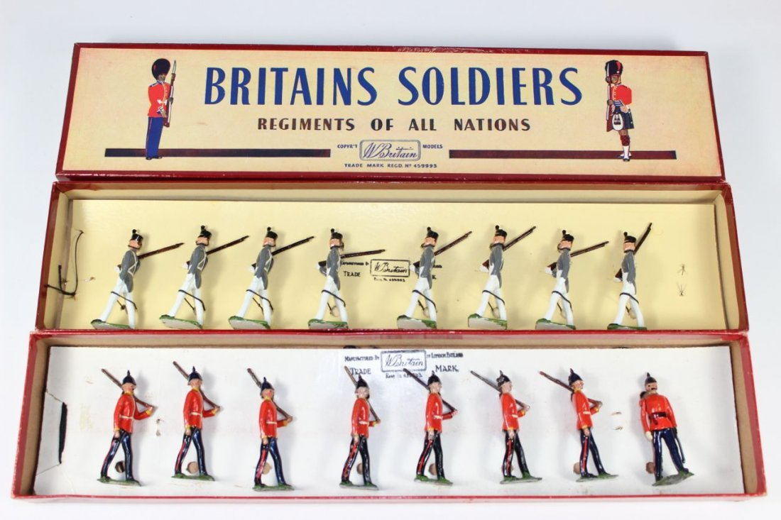 Britains Set #76 and #299 West Point Cadets