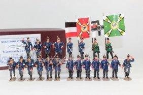 Quartermaster Corps Wwi Breman & Prussian Infantry