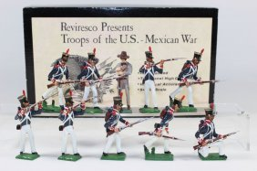 Reviresco Presents Us-mexican Infantry And Mexican