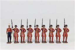 Britain Set 1257 Yeoman of the Guard With Officer
