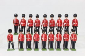 Britains Scots Guards At Attention