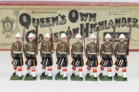 Britains Set #114 Queen's Own Cameron Highlanders