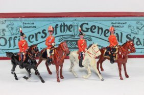 Britains Set #201 Officers And General Staff