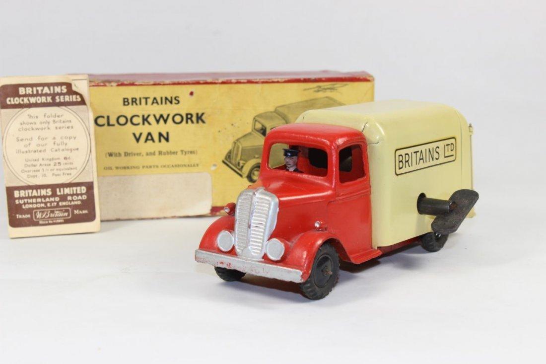 Britains Set #2045 Clockwork Van