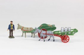 Charbens Milk Wagon And Coster Cart
