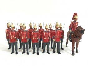 Rare Pfeiffer Us Infantry In Full Dress 1885
