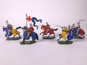 Britains Knights Of Agincourt Mounted