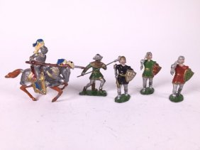 French Medieval Figures