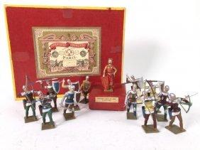 Mignot Medieval Archers & Richard Coeur De Lion