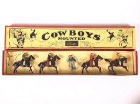 Britains Set #179 Mounted Cowboys