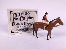 Britains Racing Colours H M The King