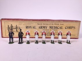 Britains From Set #320 Royal Army Medical Corps