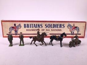 Britains Set #1907 British Army Staff Officers