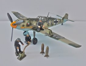 Tamiya Me-109+3 Krock Luftwaffe Mechanics