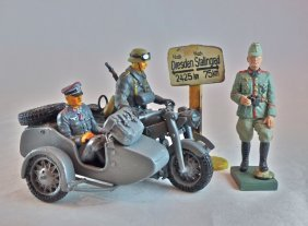 Duscha German Motorcycle+officer+signpost