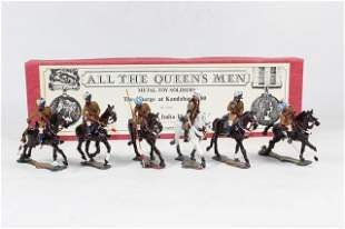 All The Queens Men Charge At Kandahar 1880