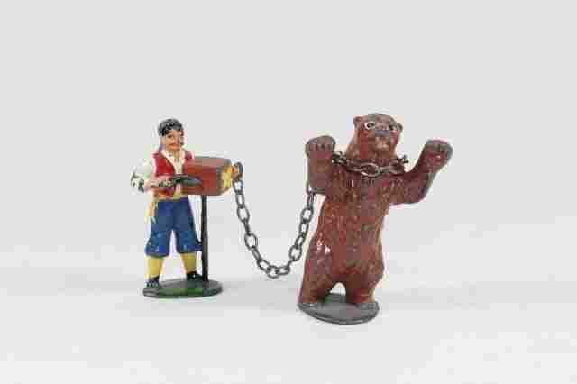 Timpo Gypsy Organ Grinder With Bear