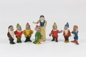 Britains #1654 Snow White And Seven Dwarfs