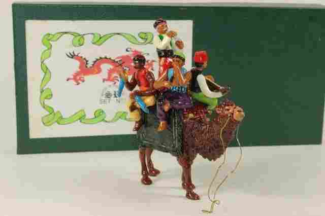 Marlborough Silk Road Camel With Musicians