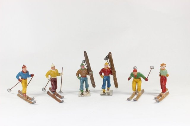 French Charles Lanoy (CL) Snow Skiers