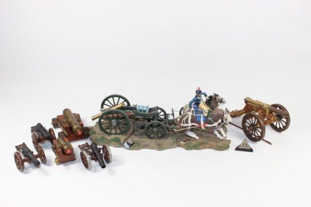 Napoleonic Caisson And Cannon
