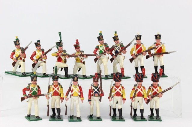 Soldiers Of The World Napoleonic Infantry