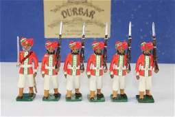 Marlborough Alwar Regiment Marching With Officers