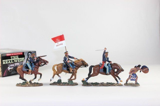 King And Country The Real West US 2nd Dragoon