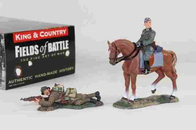 King And Country Fields of Battle FOB033 FOB055