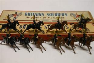 Britains from set #8 Fourth Hussars
