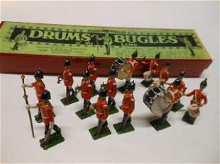 Britains from set #30 Drums and Bugles of Line