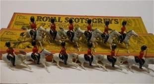Britains from set #32 Royal Scots Greys