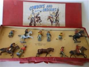 Britains set #209 Cowboy display