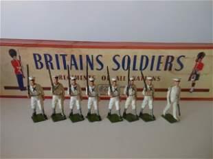 Britains set #1253 US Navy White jackets