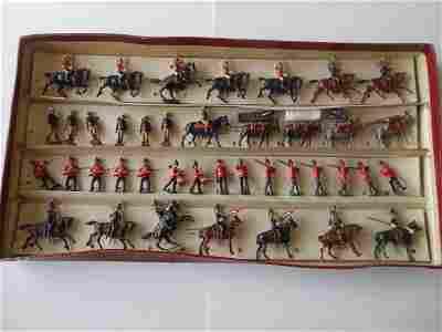 Britains set #29 RARE British Army Display