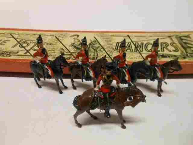 Britains set #33 the 16th Lancers