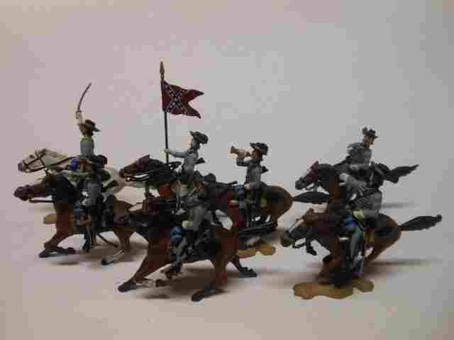 Bussler Confederate Cavalry