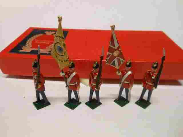 Tradition, Infantry of the Line Colour Party