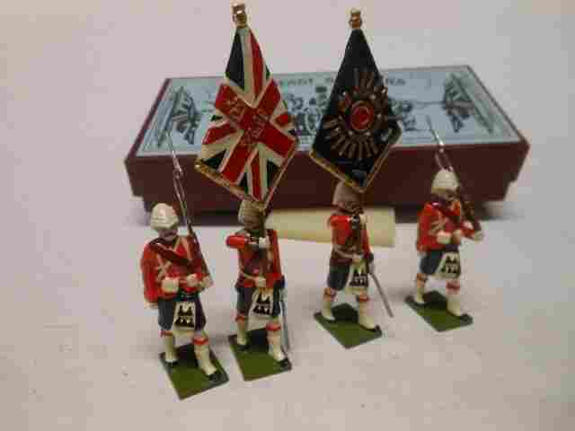 Steadfast, Black Watch Colour Party