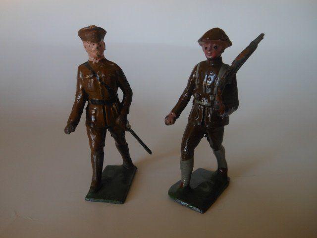 Johillco, Khaki Officer and Infantryman