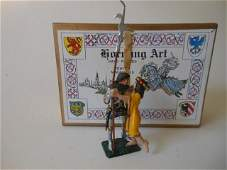 Hornung Art, Knight and Lady