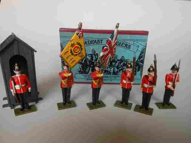 Steadfast, Suffolk Regiment Colour Party