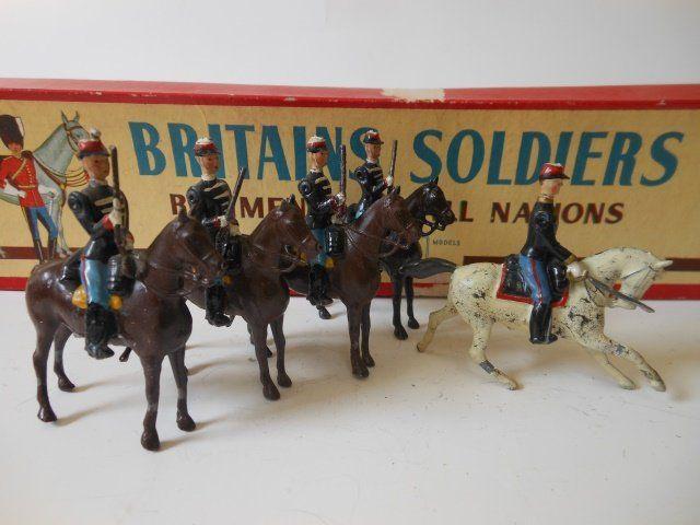 Britains Belgian Cavalry set #190