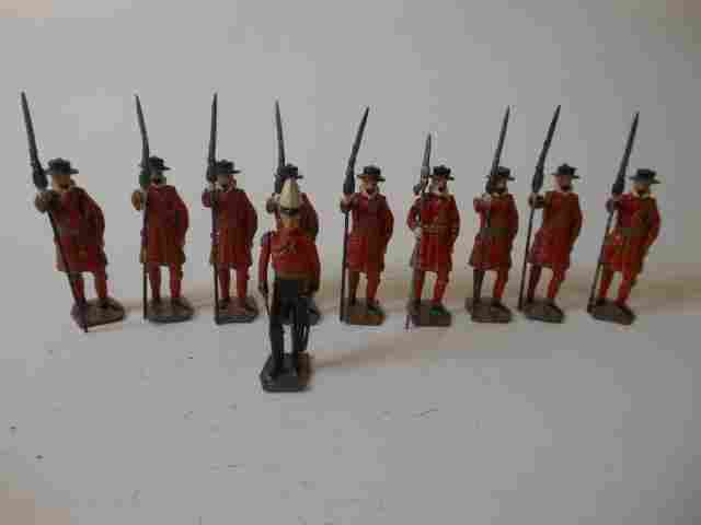 Britains set #1257 Yeomen of the Guard