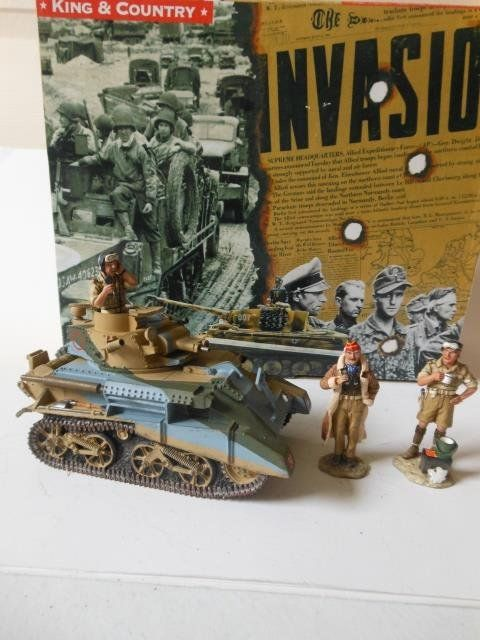 King and Country # EA016 Fighting Vehicles