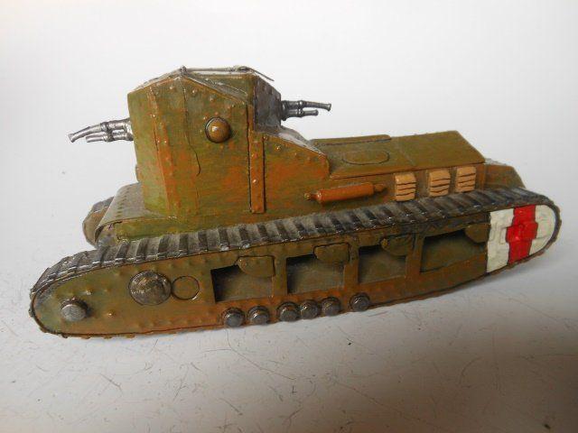 Metal Shed WW I Tank