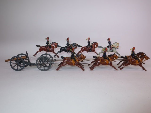 Britains Set #125 Royal Horse Artillery