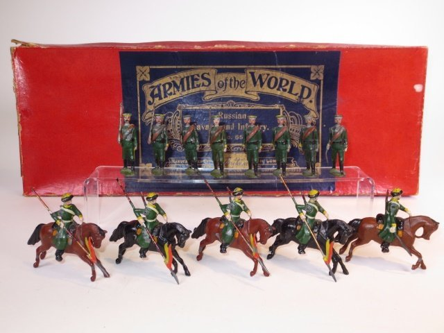 Britains Set #65 Russian Cavalry and Infantry