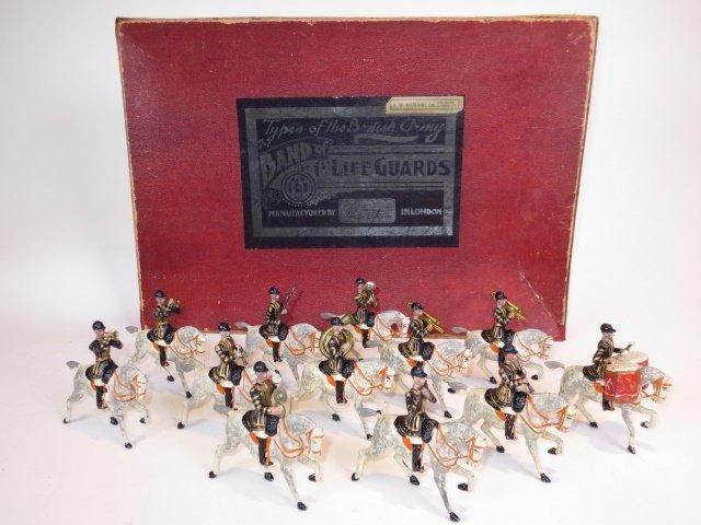 Britains Set #101  Mounted Life Guard Band